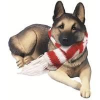 Sandicast German Shepard Laying Ornament from Blain's Farm and Fleet