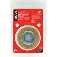 TASK Fine Crimp Wire Wheel from Blain's Farm and Fleet