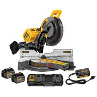 DEWALT FLEXVOLT 120V MAX Sliding Miter Saw Kit from Blain's Farm and Fleet