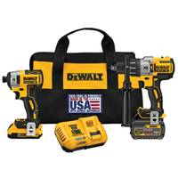 DEWALT FLEXVOLT Hammerdrill/Impact Driver Combo Kit from Blain's Farm and Fleet