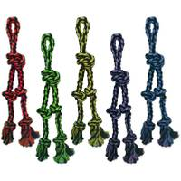 Multipet International Nuts for Knots Danglers Rope Tug Assortment from Blain's Farm and Fleet