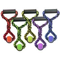 Multipet International Nuts For Knots Ball Rope Tug Assortment from Blain's Farm and Fleet