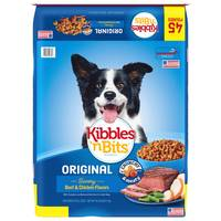 Kibbles 'n Bits Beef and Chicken Flavors Dry Dog Food from Blain's Farm and Fleet