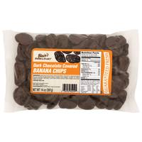 Blain's Farm & Fleet Dark Chococlate Covered Banana Chips from Blain's Farm and Fleet