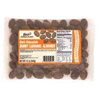 Blain's Farm & Fleet 12 oz Burnt Caramel Dark Chocolate Almonds from Blain's Farm and Fleet