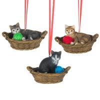 Midwest-CBK Cat Basket Ornament Assortment from Blain's Farm and Fleet