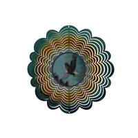 Showtime Sales Eagle Holographic Wind Spinner from Blain's Farm and Fleet