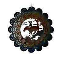 Showtime Sales Horse Rider Die Cut Wind Spinner from Blain's Farm and Fleet