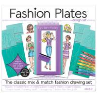 Kahootz Fashion Plates Fashion Drawing Set from Blain's Farm and Fleet