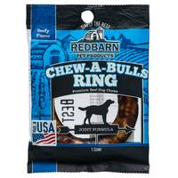 Redbarn Chew-A-Bulls Beef Ring Dog Treats from Blain's Farm and Fleet