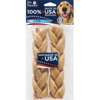 Pet Factory USA Beefhide Chicken Flavor Braided Sticks from Blain's Farm and Fleet
