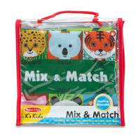 Melissa & Doug Soft Activity Book - Mix & Match from Blain's Farm and Fleet