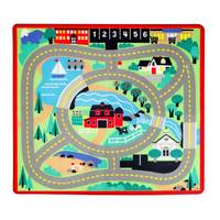 Melissa & Doug Round the Town Road Rug & Car Set from Blain's Farm and Fleet