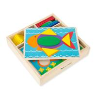Melissa & Doug Beginner Pattern Blocks from Blain's Farm and Fleet