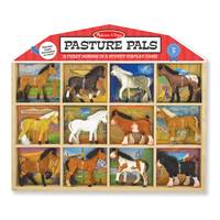Melissa & Doug Pasture Pals Collectible Horses Assortment from Blain's Farm and Fleet