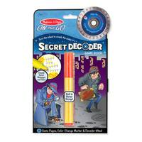 Melissa & Doug Secret Decoder Game Book from Blain's Farm and Fleet