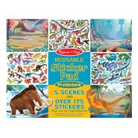 Melissa & Doug Prehistoric Reusable Sticker Pad from Blain's Farm and Fleet
