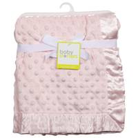 HJ Rashti Dot Blanket With Satin Trim from Blain's Farm and Fleet