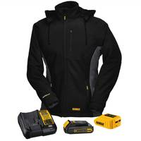 DEWALT 20V/12V MAX Women's Soft Shell Heated Jacket Kit from Blain's Farm and Fleet