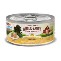 Whole Earth Farms 5 oz Grain Free Real Chicken Recipe Cat Food from Blain's Farm and Fleet