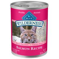 Blue Buffalo Wilderness Adult Salmon Flavored Cat Food from Blain's Farm and Fleet