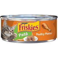 Friskies Classic Pate Poultry Platter Cat Food from Blain's Farm and Fleet