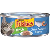 Friskies Classic Pate Seafood Entree Cat Food from Blain's Farm and Fleet