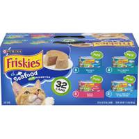 Friskies Seafood Variety Canned Cat Food - 32 Pack from Blain's Farm and Fleet