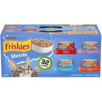 Friskies Savory Shreds Cat Food Variety - 32 Pack from Blain's Farm and Fleet