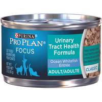 Purina Pro Plan Focus Urinary Tract Health Ocean Whitefish Entree Adult Wet Cat Food from Blain's Farm and Fleet