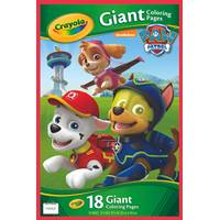 Crayola Paw Patrol Giant Coloring Pages from Blain's Farm and Fleet