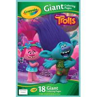 Crayola Trolls Giant Coloring Pages from Blain's Farm and Fleet