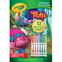 Crayola Trolls Coloring & Activity Pad from Blain's Farm and Fleet