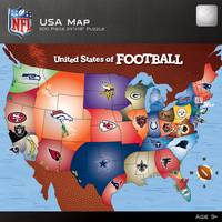 MasterPieces 500-Piece NFL Map Puzzle from Blain's Farm and Fleet