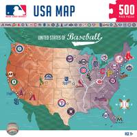 MasterPieces 500-Piece MLB Map Puzzle from Blain's Farm and Fleet