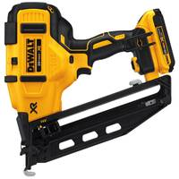 DEWALT 20V Max 16 GA Angled Cordless Finish Nailer Kit from Blain's Farm and Fleet