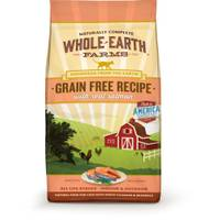 Whole Earth Farms 5 lb Grain Free Real Salmon Cat Food from Blain's Farm and Fleet