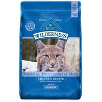 Blue Buffalo Wilderness 11 lb High Protein Dry Adult Chicken Cat Food from Blain's Farm and Fleet