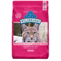 Blue Buffalo Wilderness 11 lb Wilderness High Protein Dry Adult Salmon Cat Food from Blain's Farm and Fleet