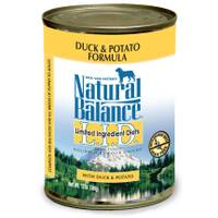 Natural Balance L.I.D. Duck & Potato Canned Dog Food from Blain's Farm and Fleet