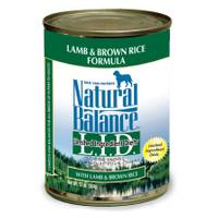 Natural Balance L.I.D. Lamb & Rice Canned Dog Food from Blain's Farm and Fleet