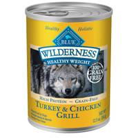 Blue Buffalo Wilderness Healthy Weight Grain Free Dog Food from Blain's Farm and Fleet