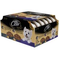 Cesar Home Delights Ribeye Flavor Dog Food - 12 Pack from Blain's Farm and Fleet