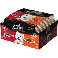 Cesar Canine Cuisine Variety Pack Beef And Chicken & Liver Dog Food from Blain's Farm and Fleet