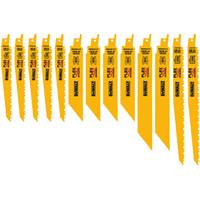 DEWALT 13 Piece Reciprocating Saw Blade Set from Blain's Farm and Fleet