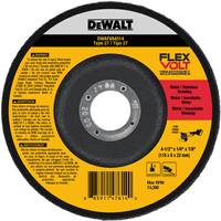 DEWALT FLEXVOLT T27 Grinding Wheel from Blain's Farm and Fleet