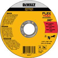 DEWALT FlexVolt Type 1 Metal Cutting Wheels from Blain's Farm and Fleet