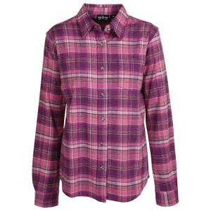 CG | CG Women's Cranberry Stretch Flannel Plaid Shirt