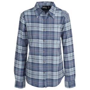 CG | CG Women's Teal Stretch Flannel Plaid Shirt