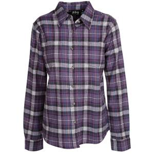 CG | CG Women's Purple Stretch Flannel Plaid Shirt